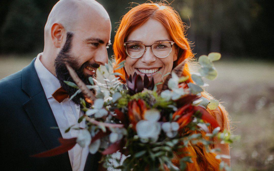Besondere Hochzeit in der Räuberhütte in Moritzburg