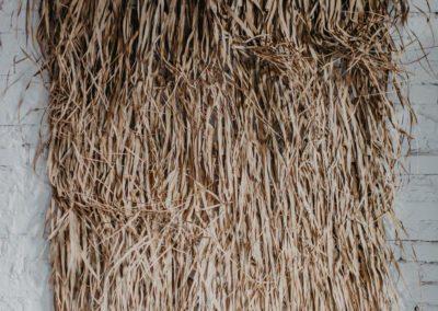 Hintergrunddekoration Palmenmatte